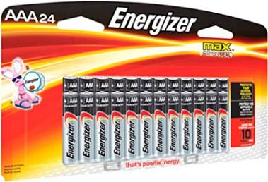 Energizer Max alcalinas, 24 pilas AAA