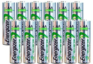 Pilas AA recargables Energizer  NiMH 2300 mAh 1.2 V NH15