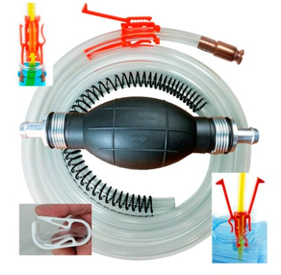 Kit de emergencia: Siphon Pro XL - Largest Siphon for Water - Gas - Diesel