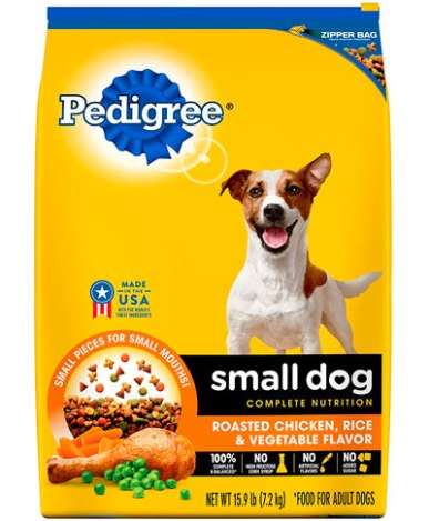 Alimento para perros Pedigrí raza pequeña, adultos