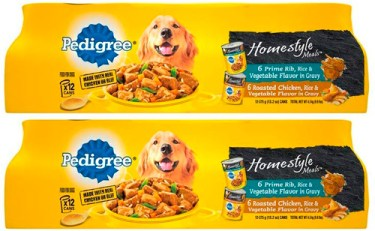 Alimento para perros Pedigree Homestyle Meals Adult