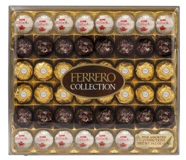 Regalos para San Valentín - Ferrero Rocher Fine Hazelnut Milk Chocolate and Coconut Confections