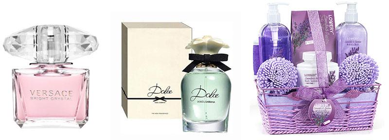 Día de la Madre- regalos Perfumes y artículos de cuidado personal