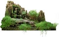 Indoor miniature Japanese garden