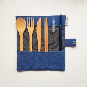 Reusable Cutlery Set Blue