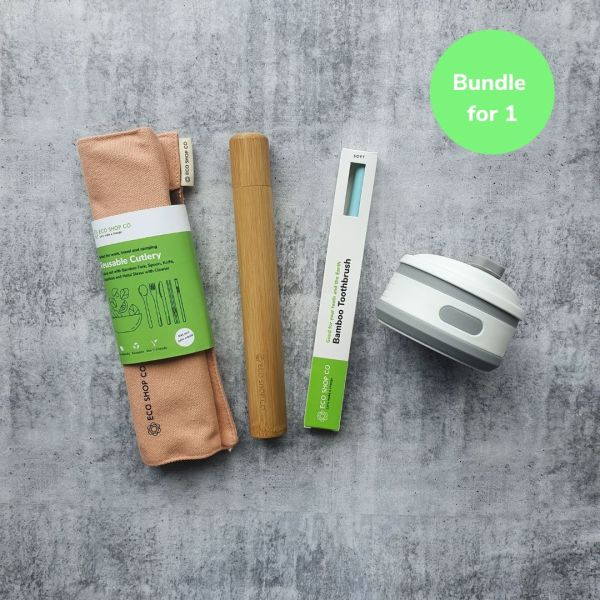 Sustainable Travel Gift Bundle for 1