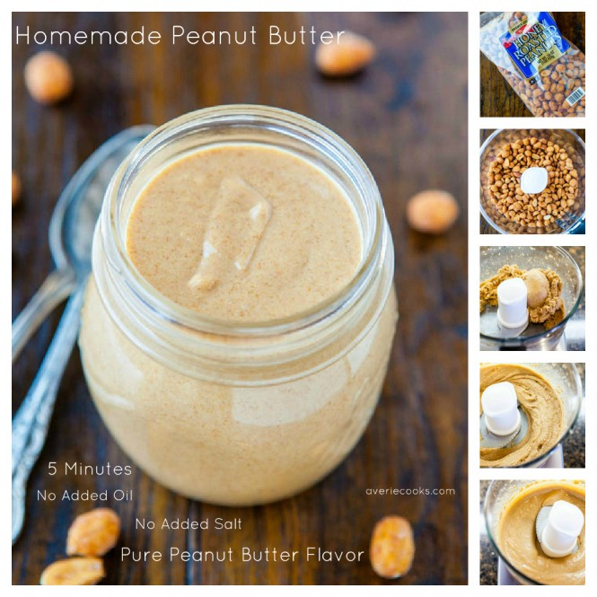 Homemade Peanut Butter  Eco Snippets