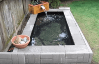 how to make a backyard pond - 28 images - new pond and bog ...