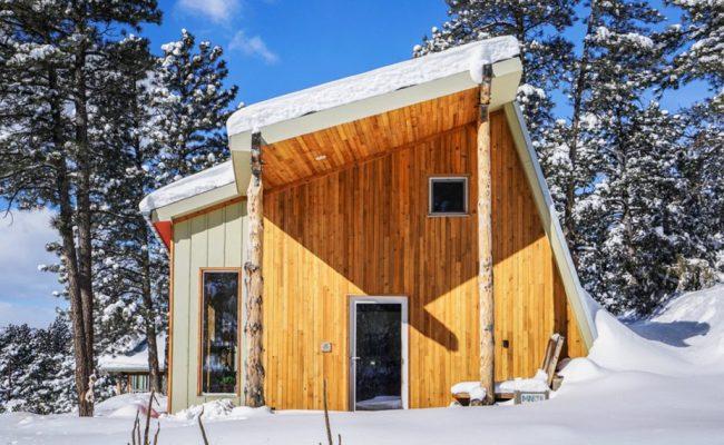 Designer Builds Efficient Off Grid Passive House In