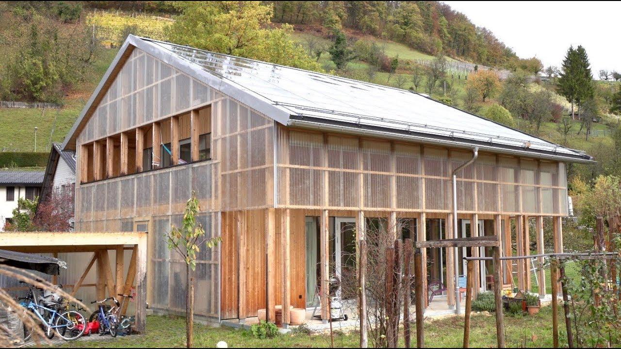 Translucent Swiss Barn  Modern Home Regulates Views