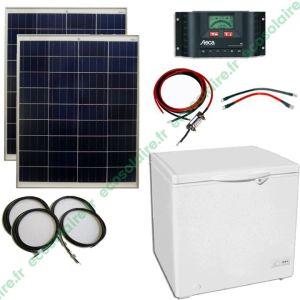 Kit conservateur solaire 150L