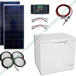 ECO-E15206A - Kit congélateur solaire 150L 12V sans batterie