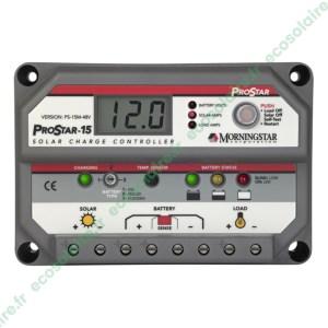 Régulateur de charge PROSTAR PS-15M-48V