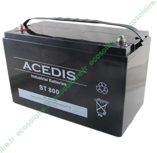 Batterie étanche AGM ST800