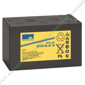Batterie Sonnenschein Solar S12/6,6