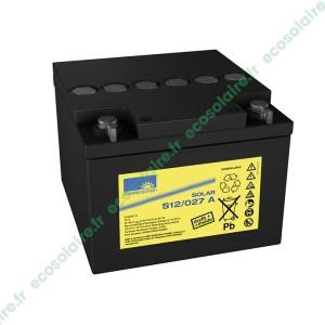 Batterie Sonnenschein Solar S12/27