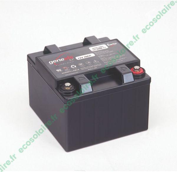 Batterie étanche GENESIS G26EP