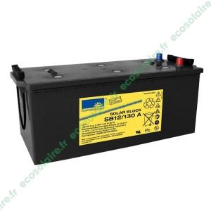 Batterie Sonnenschein Solar Block SB12/130