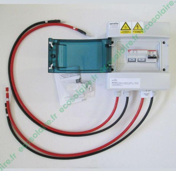 Le coffret de protection batterie - 60A
