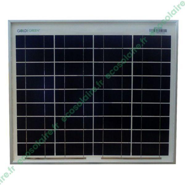 panneau solaire 12Wc