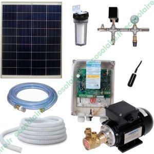 Kit pompe solaire de surface PS150 BOOST-125 100W