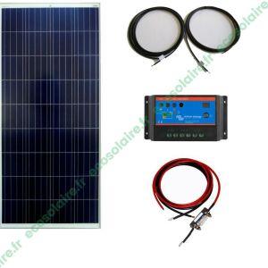 kit autonome solaire 150W