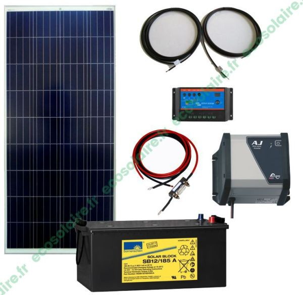 kit autonome solaire 160W 230V