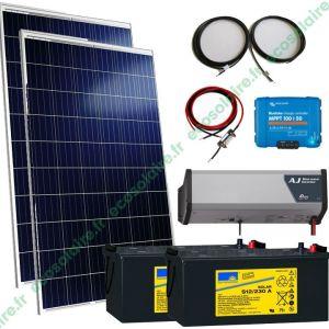 kit autonome solaire 570W 230V