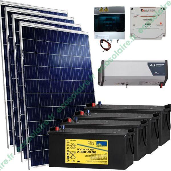 Kit autonome solaire 1060W 230V
