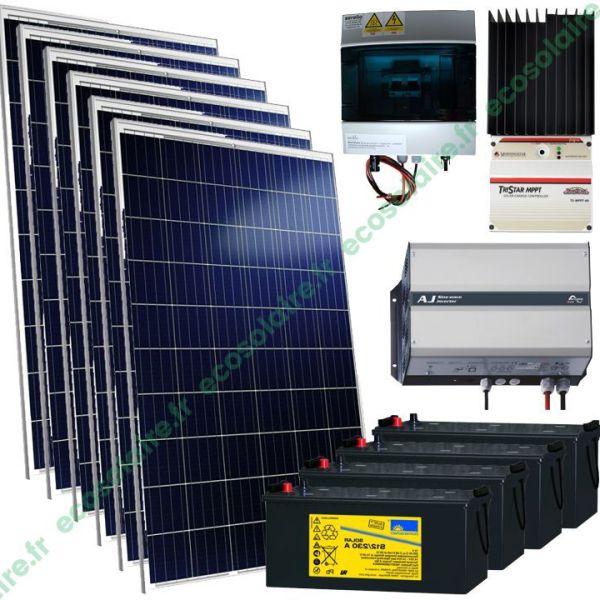 Kit autonome solaire 1590W 230V