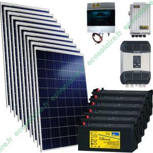 Kit autonome solaire 2850W 230V