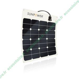 Panneau solaire souple SunPower® SPR-E-Flex-50
