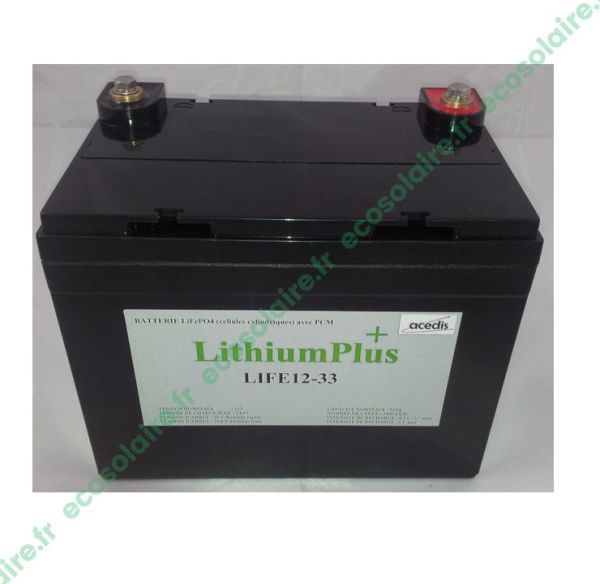 M11220033 - Batterie Lithium LiFePO4 LIFE12-33