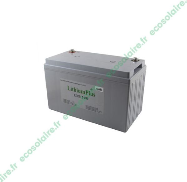 Batterie Lithium LiFePO4 LIFE12-100