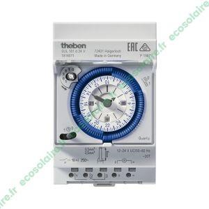 Horloge programmable analogique 12-24V