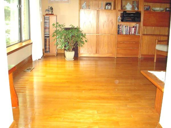 DIY Hardwood Floor Stain