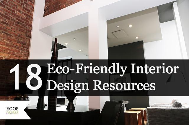 18 Eco Friendly Interior Design Resources & Giveaway!