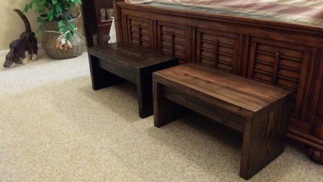 wide step stools