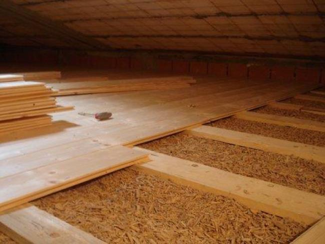 Isolamento termico sottotetto
