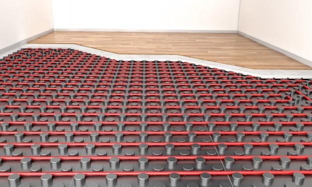 pavimento radiante senza massetto - a secco