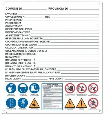 cartello di cantiere e Superbonus 110%