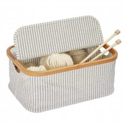 Caja de Bambú Plegable
