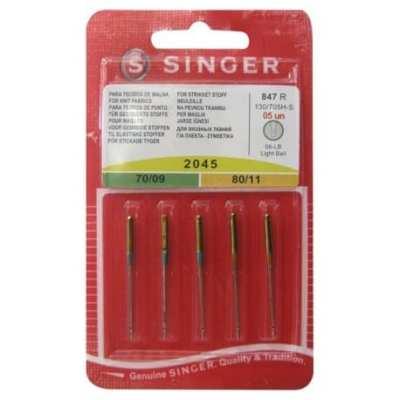 Agujas Singer 2045 70/09 80/11