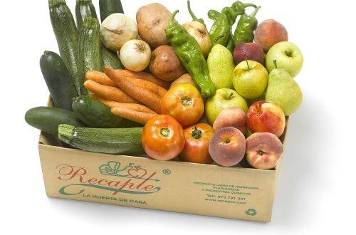 Caja de fruta y verdura