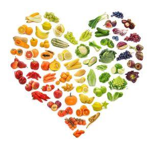 colores de la fruta