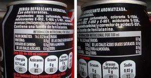 Edulcorantes artificiales