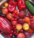 Agua para lavar fruta y verdura