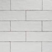Handmade White Matt Natura Wall Subway Tiles 396130 in