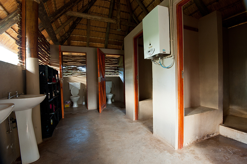 Karongwe Game Reserve, South Africa - Camp share ablutions