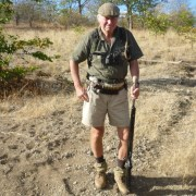 Jeffrey as back-up Trails Guide at Makuleke